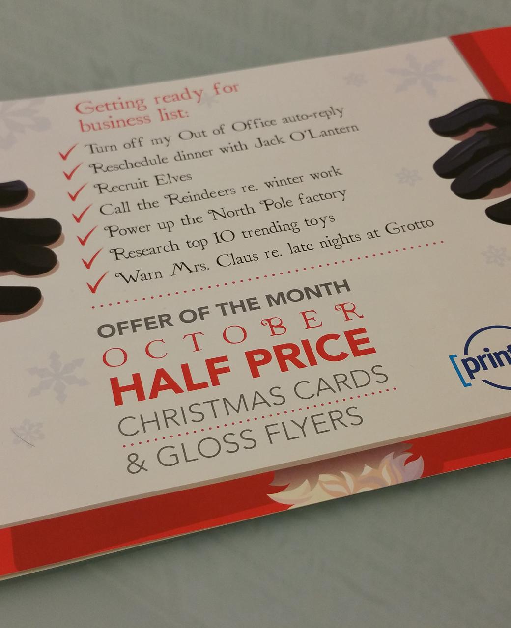 Half Price Print Offers
